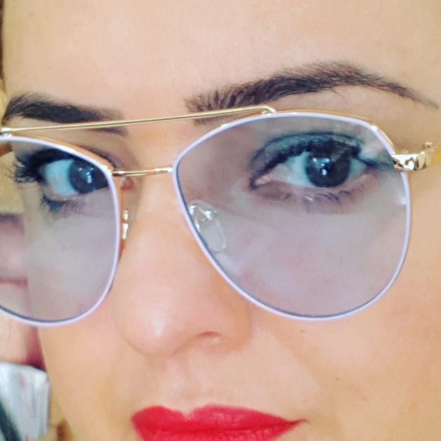 AVIADOR FEMININO LENTE TRANSPARENTE AZUL - ÓTICA OUTLET VENEXIA - EXAME DE  VISTA, LENTES KODAK, LENTES VARILUX, MELHORES ARMAÇÕES, ÓCULOS DE SOL E DE  GRAU, ... 00d03e8942